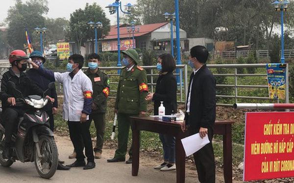 """Một xã ở Vĩnh Phúc bị cách ly 20 ngày """"nội bất xuất, ngoại bất nhập"""" để phòng dịch Covid-19"""