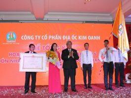 Công ty Kim Oanh vinh dự được nhận Huân chương Lao động hạng Nhì